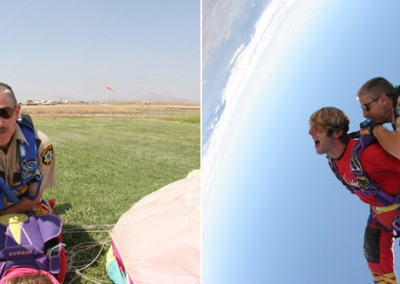 Skydiving with Craig O'Brien